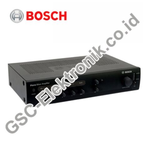 PLENA ECONOMY BOSCH MIXER AMPLIFIER 120 WATT PLE-1ME120-EU 1 ple_1me120_eu_mixer_amplifier