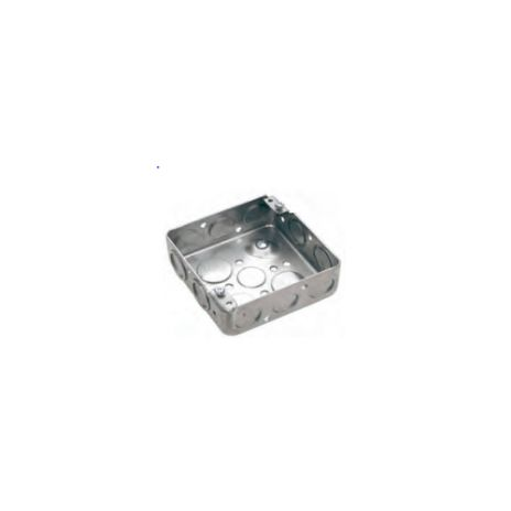 ACCESSORIES FOR STEEL PIPE CONDUIT FORT SQUARE OUTLET BOX DS-3744 TYPE SOB190 1 sob190